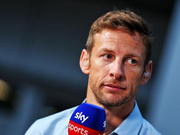 ESports: Button wins Legends F1 race as Villeneuve makes strong virtual debut