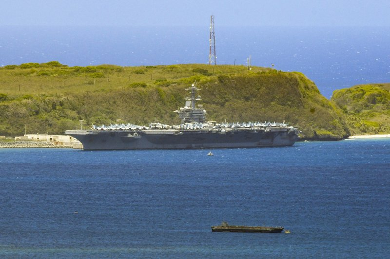 US Navy reports first coronavirus death from Roosevelt crew