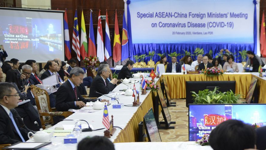 ASEAN holds special summit on response to COVID-19 pandemic