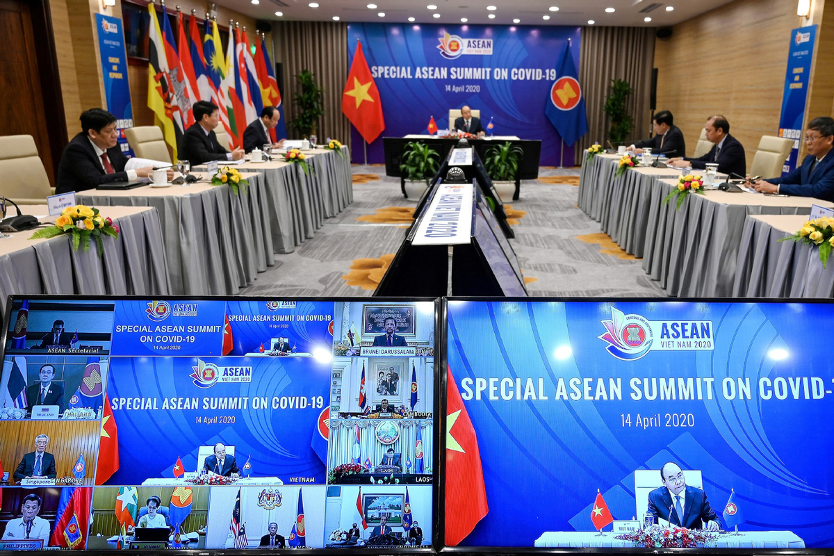 ASEAN leaders prioritize COVID-19 pandemic control
