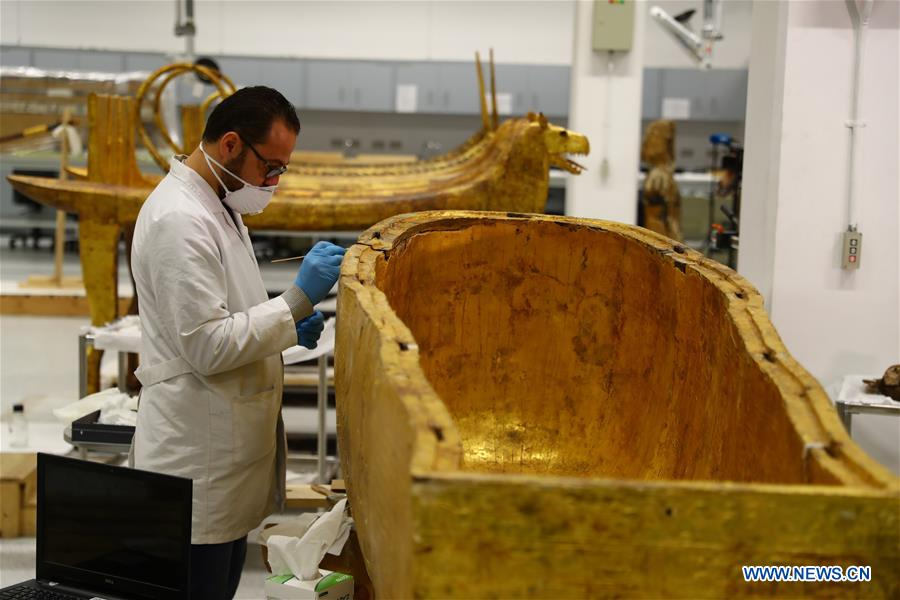 Grand Egyptian Museum takes measures to fight COVID-19