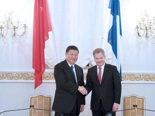 Xi says China to help Finland address shortage of anti-epidemic supplies