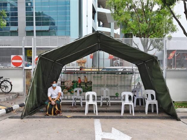 Singapore reports 334 new coronavirus cases, bringing total to 3,252