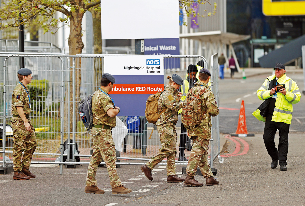 UK lockdown measures set to continue for at least 3 weeks