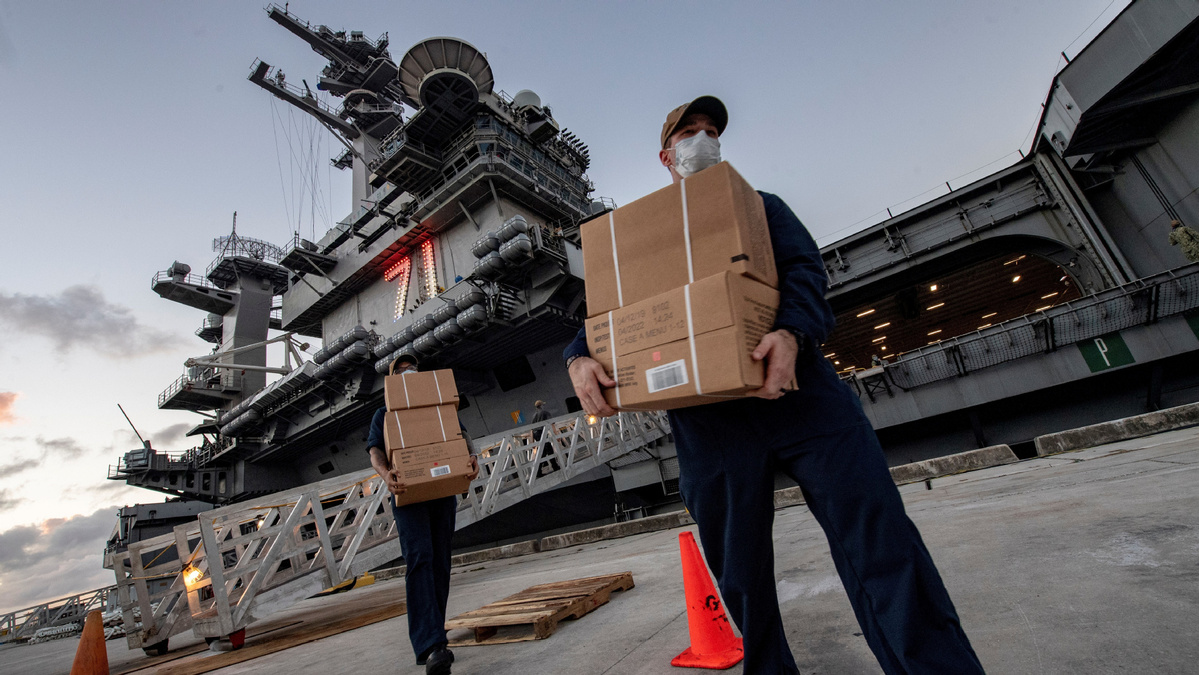US sailor from coronavirus-hit aircraft carrier dies after contracting virus