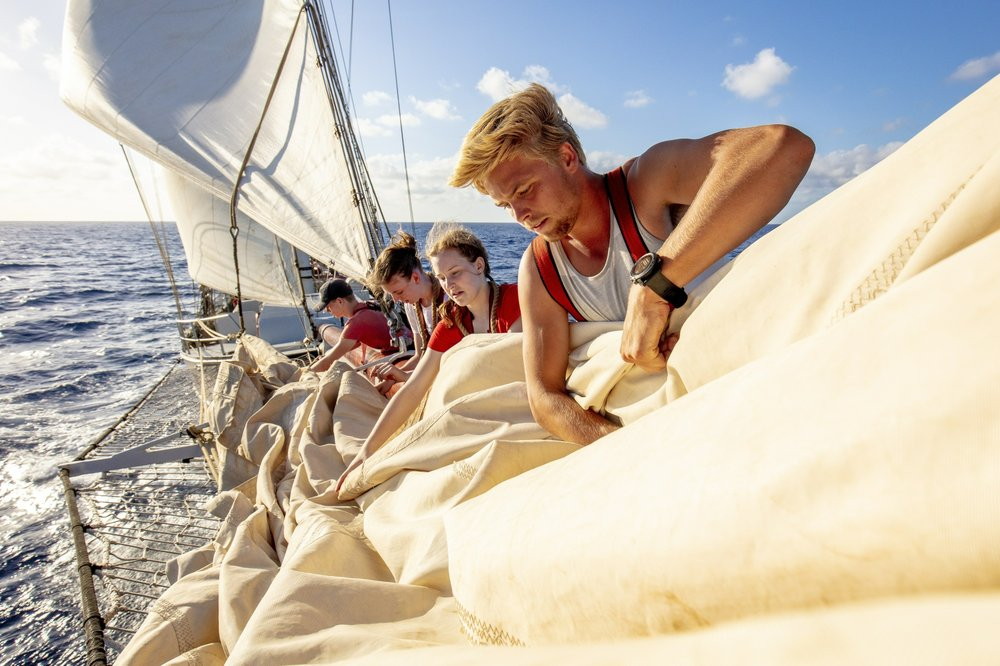 Schooner is school for Dutch teens sailing home due to virus