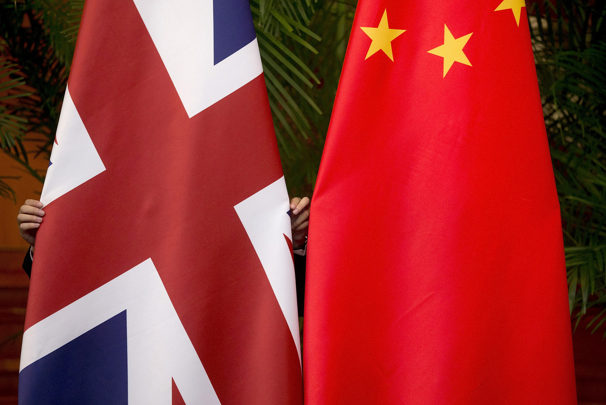 London, Beijing need to maintain positive ties