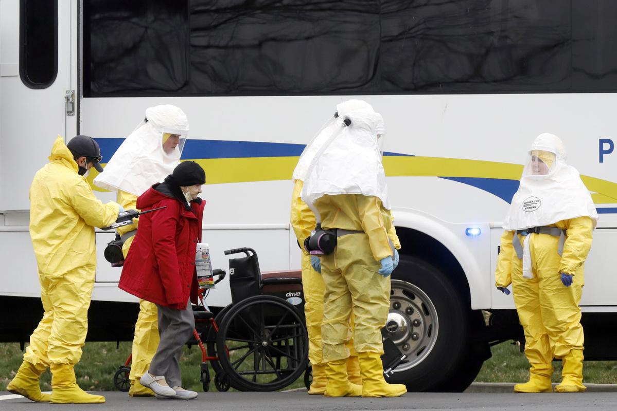 Virus is killing veterans in nursing homes