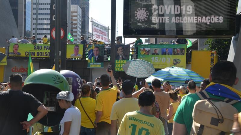 Two Brazil governors test positive for coronavirus