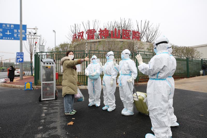 Wuhan makeshift hospital retires as epidemic wanes