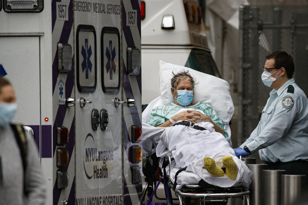 COVID-19 deaths in US top 25,000: Johns Hopkins University