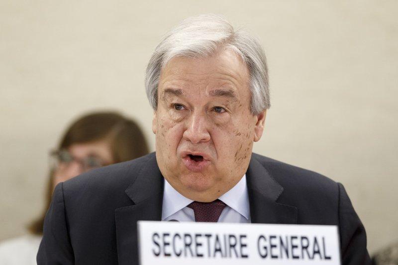 UN chief: world faces misinformation epidemic about virus