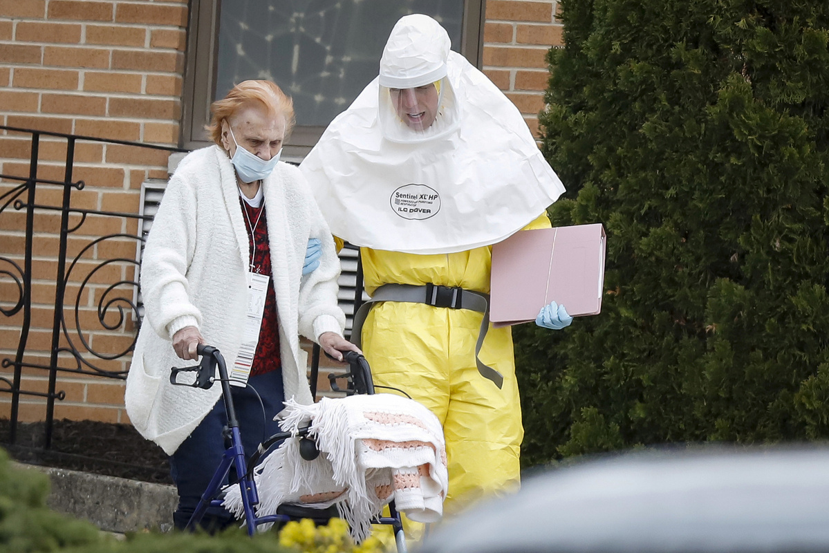 Nursing homes ravaged by rising virus toll in US