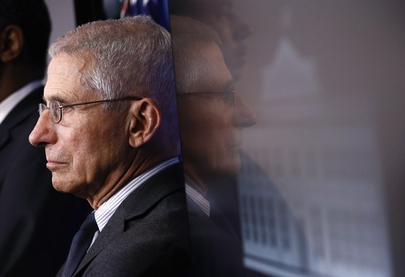 Fauci: 'We're not there yet' on key steps to reopen economy