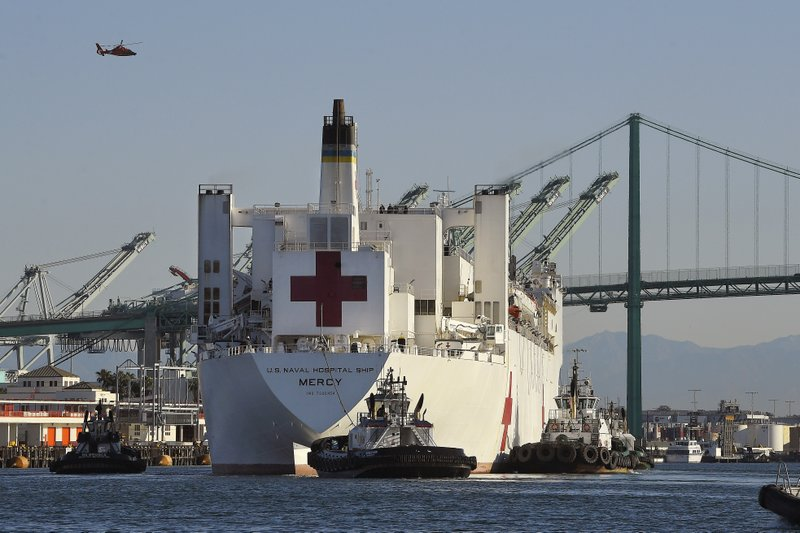 US Navy hospital ship in Los Angeles might scale back mission
