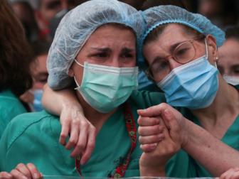 Europe coronavirus death toll tops 90,000: AFP tally