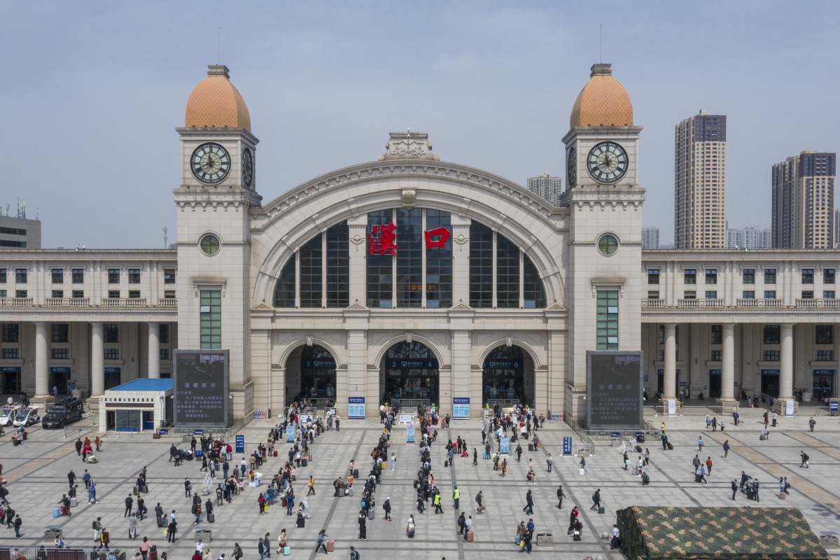 Reopened Wuhan sees over 660,000 inbound and outbound passengers in first week