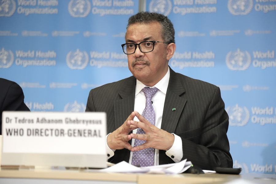 WHO chief says pandemic response to be reviewed 'in due course'