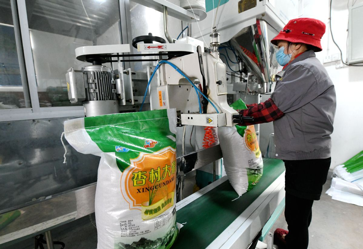 UN body urges China to consider grain buffer for better food security