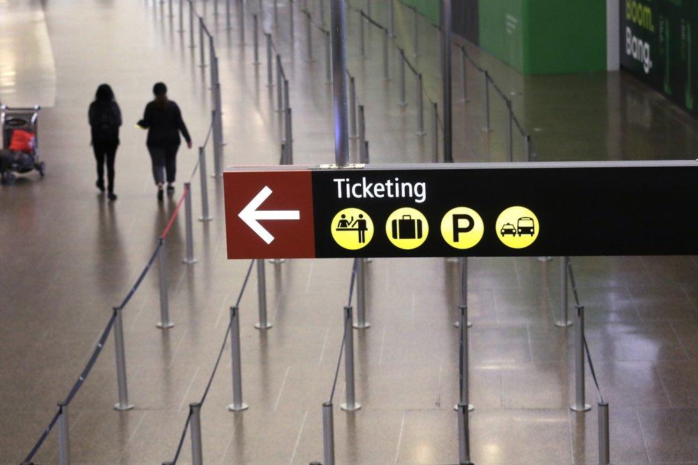Skeletal flights for airlines; economic signals flash red