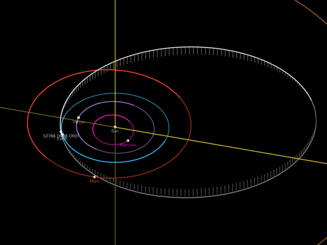 Asteroid to fly by with zero chance of hitting Earth: expert