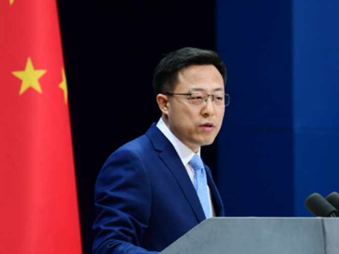 China urges US to stop politicizing COVID-19 pandemic