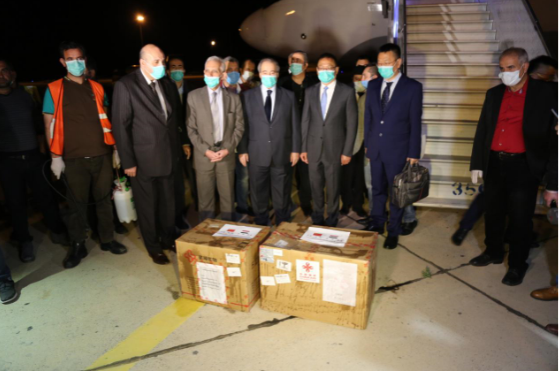 First Chinese medical aid shipment arrives in Syria