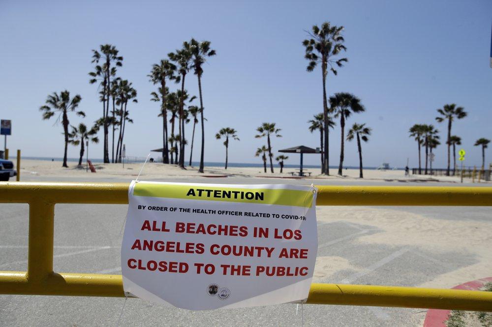 California death toll from coronavirus rises above 1,000