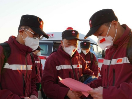 Chinese medical team arrives in Uzbekistan with supplies