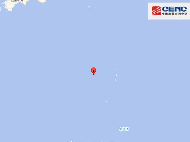 6.9-magnitude quake strikes off Japan's Ogasawara Islands: JMA