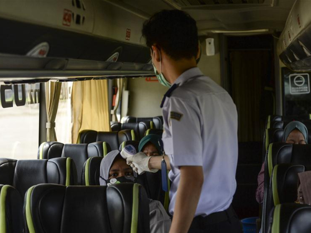 COVID-19 cases in Indonesia surpass 6,000
