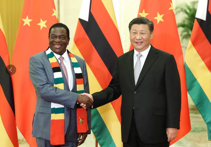 Chinese, Zimbabwean presidents exchange congratulations on 40th anniversary of ties