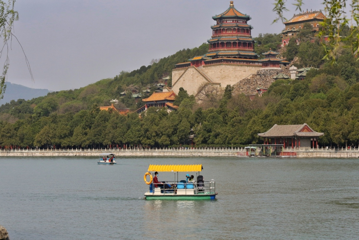 Summer Palace resumes boat tours