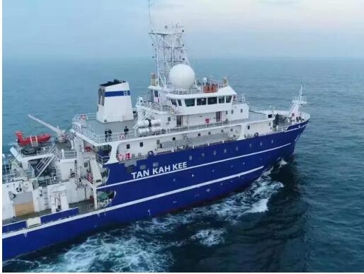 Chinese research vessel sails for South China Sea
