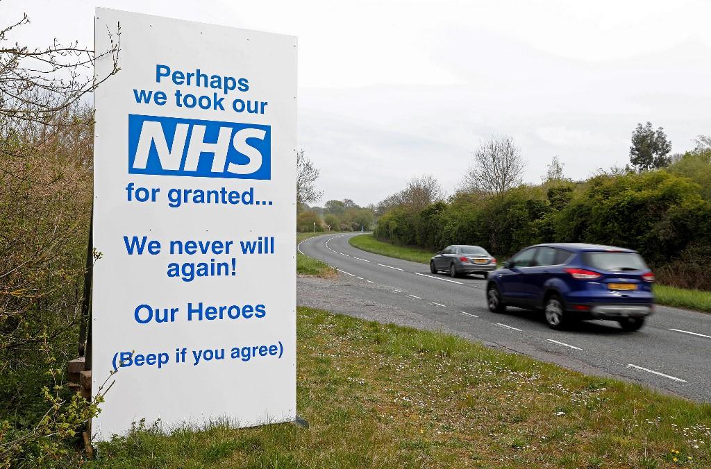 UK coronavirus hospital deaths surpass 14,500 after another 847 patients die