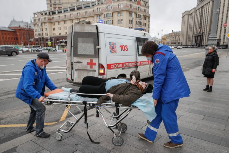 Russian COVID-19 cases exceed 40,000 with new daily record