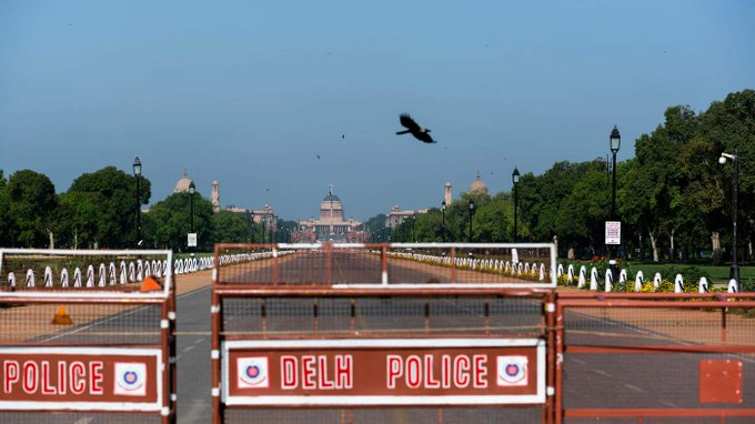 Strict lockdown to continue in Indian capital