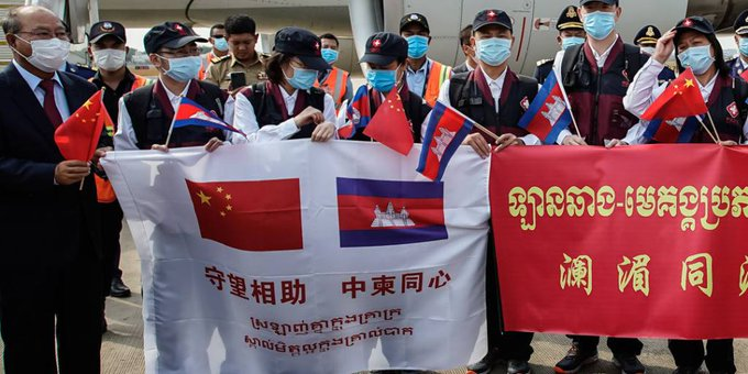 Cambodia-China joint COVID-19 fight an outstanding model of cooperation: Cambodia's ruling party spokesman