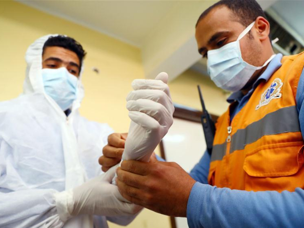 Egyptian paramedics strive to save lives from COVID-19 as first responders