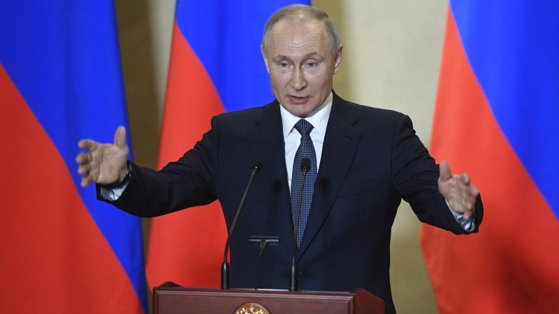 Russian COVID-19 peak yet to come: Putin