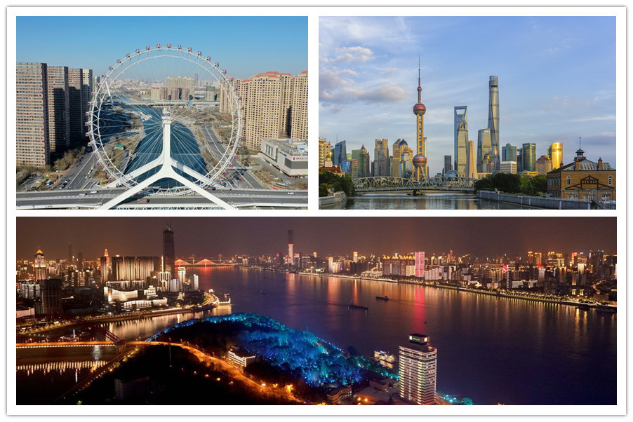 Top 10 Chinese cities with strongest GDP in 2019