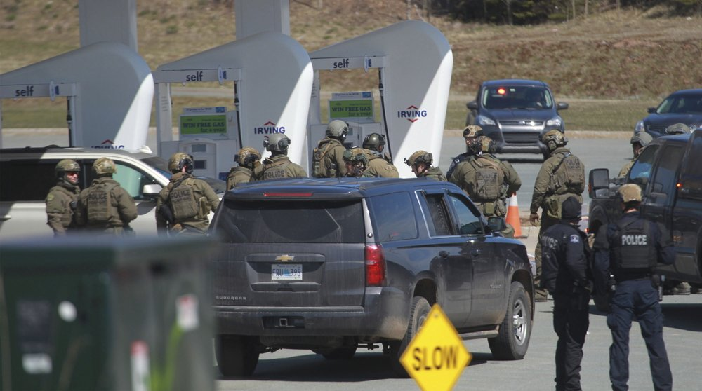 Police: At least 10 killed in shooting rampage in Canada