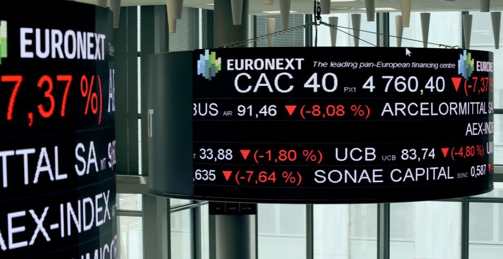 European stocks open lower on sub-zero oil