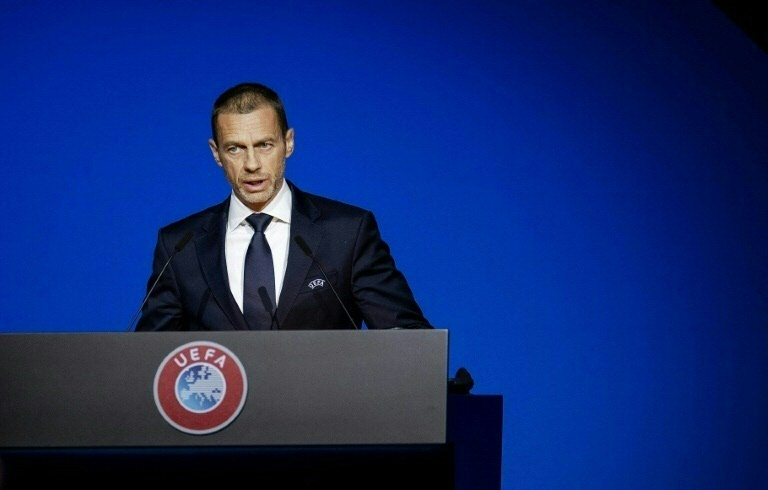 UEFA president Ceferin said leagues ready to play behind closed doors