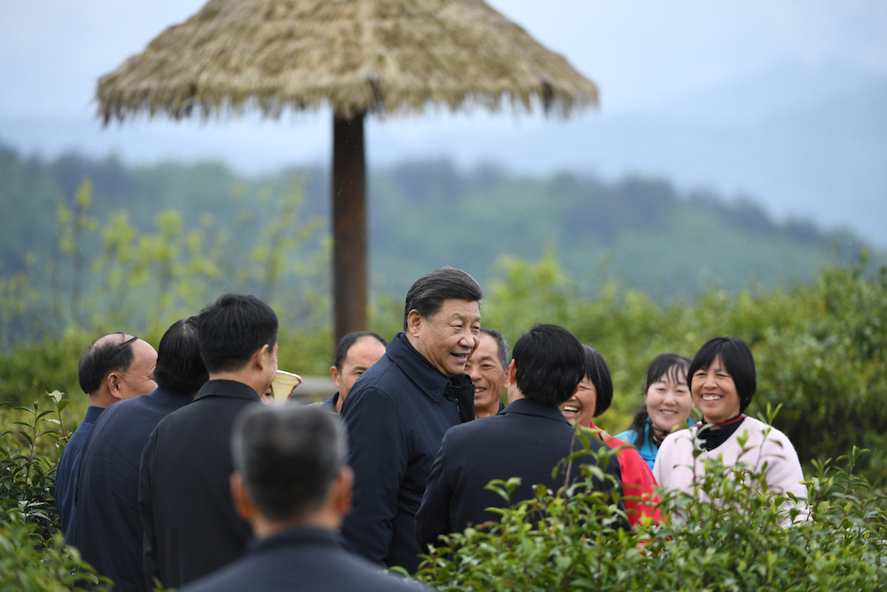 Xi inspects poverty alleviation efforts in Northwest China