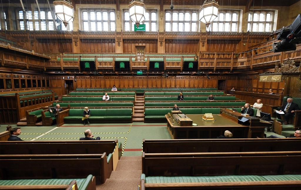 UK parliament returns with virtual virus measures