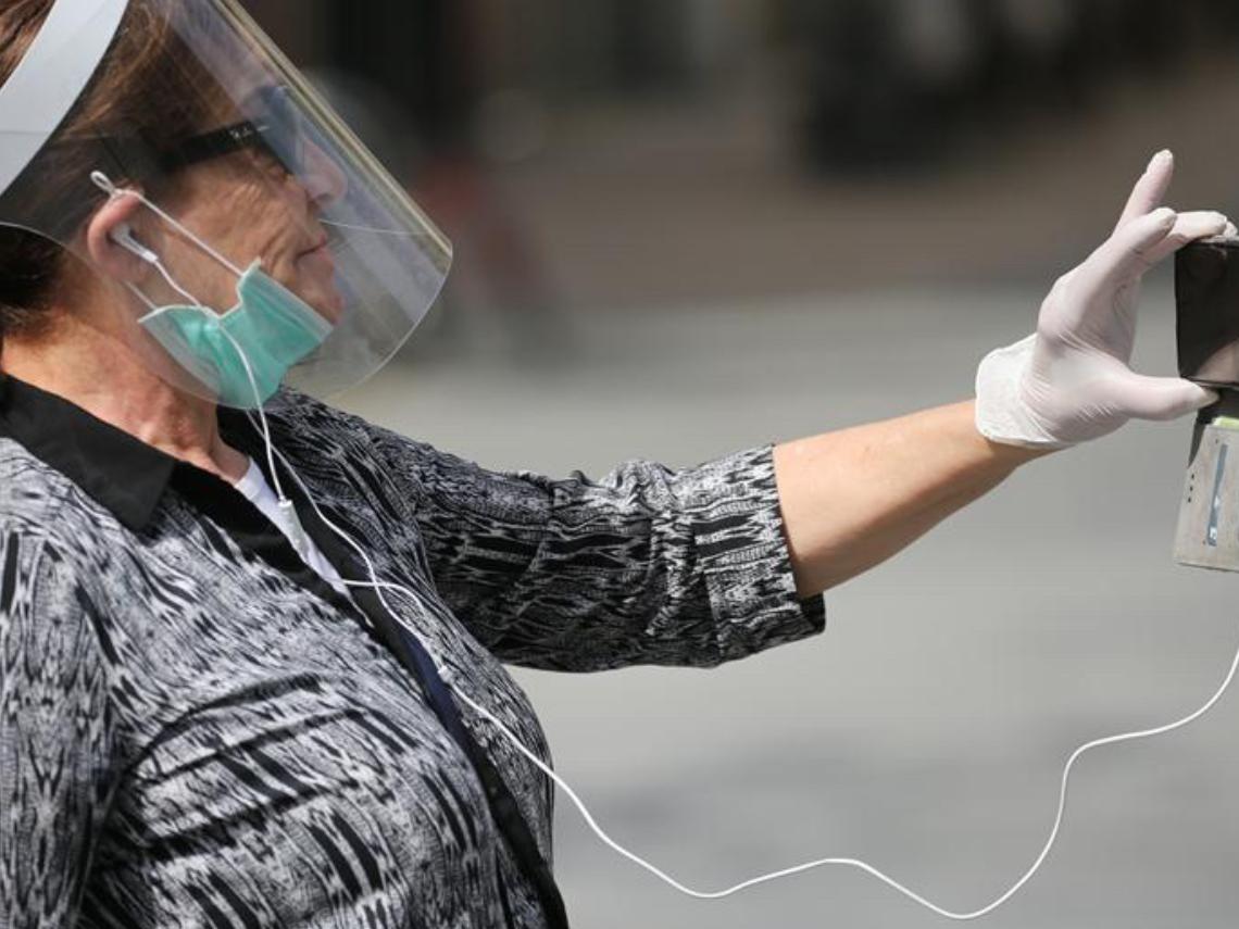 People wear masks in Jerusalem amid coronavirus pandemic