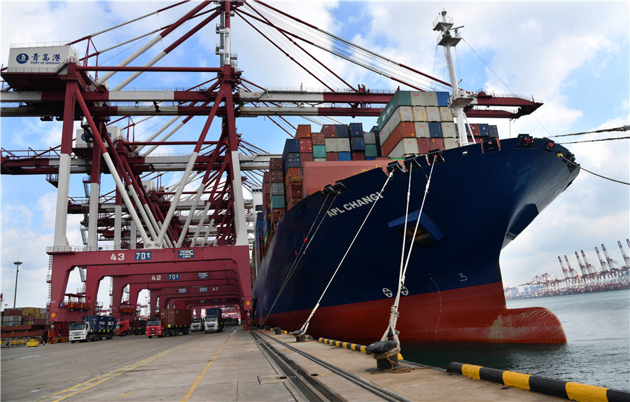 Shandong sees growing trade with B&R countries in Q1