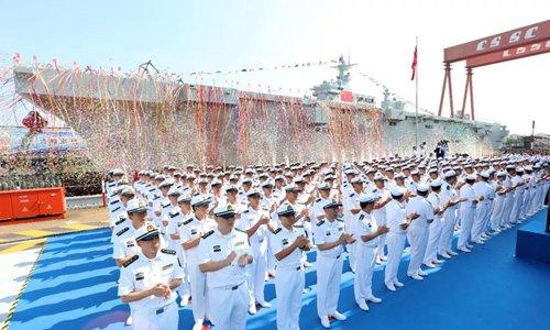 China launches second amphibious assault ship