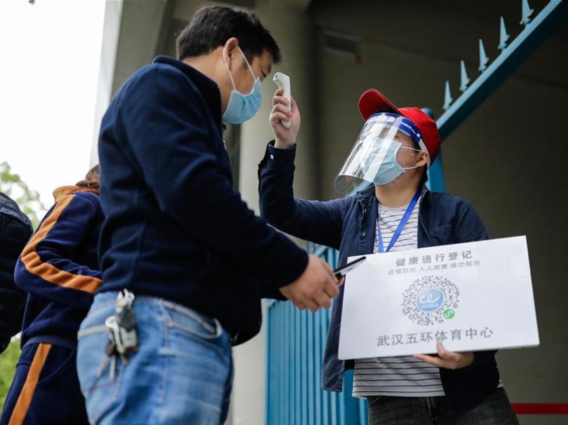 On-site job fair held in Wuhan